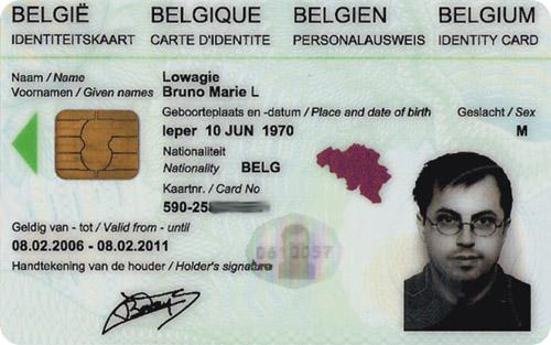 Obtenir votre carte d'identité pour la nationalité de votre choix