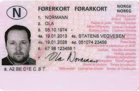 Acheter un permis de conduire-passeport & carte d'identité en Norvège