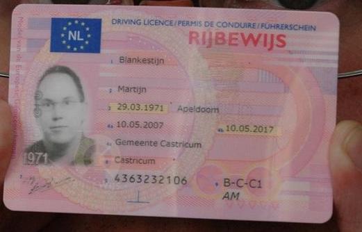 Acheter son permis de conduire au pays-bas
